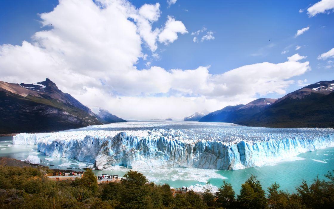 Gigante Blanco - Argentina - Patagonia wallpaper
