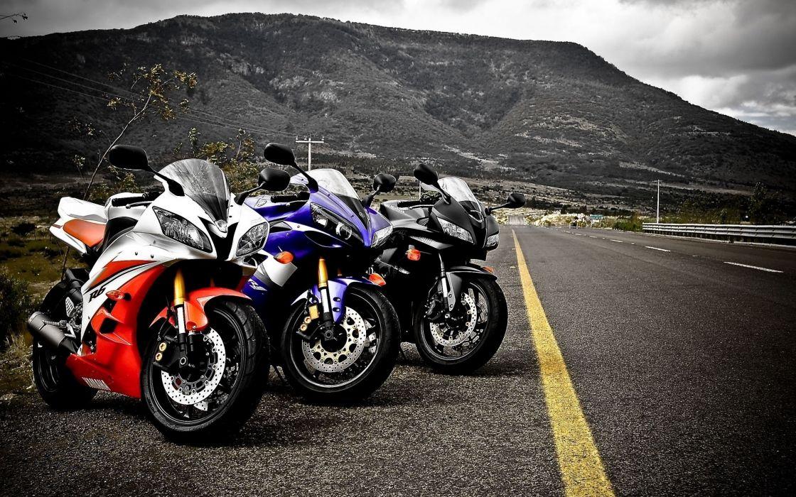 Yamaha Motorcycles wallpaper