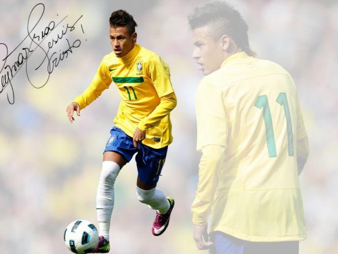 Neymar at Brazil wallpaper