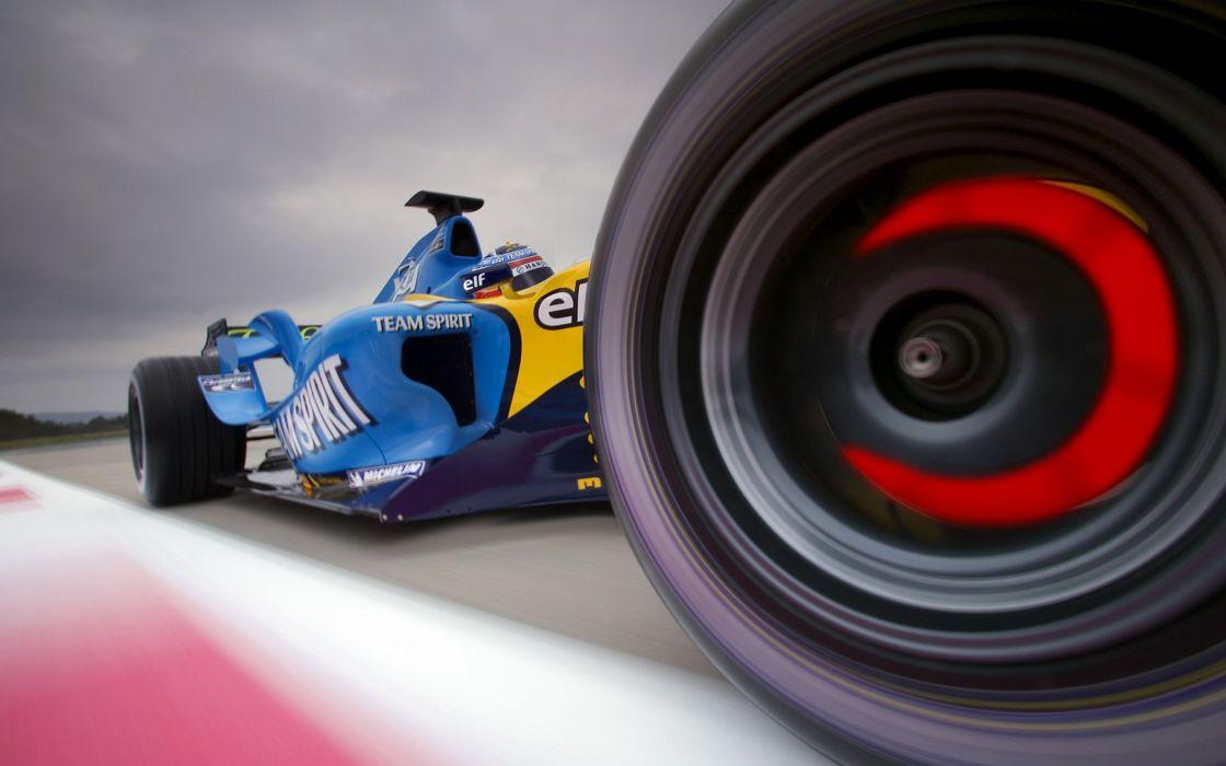Team Spirit Formula 1 wallpaper