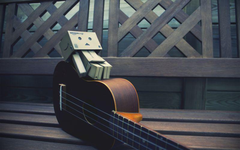 Dambo with guitar wallpaper