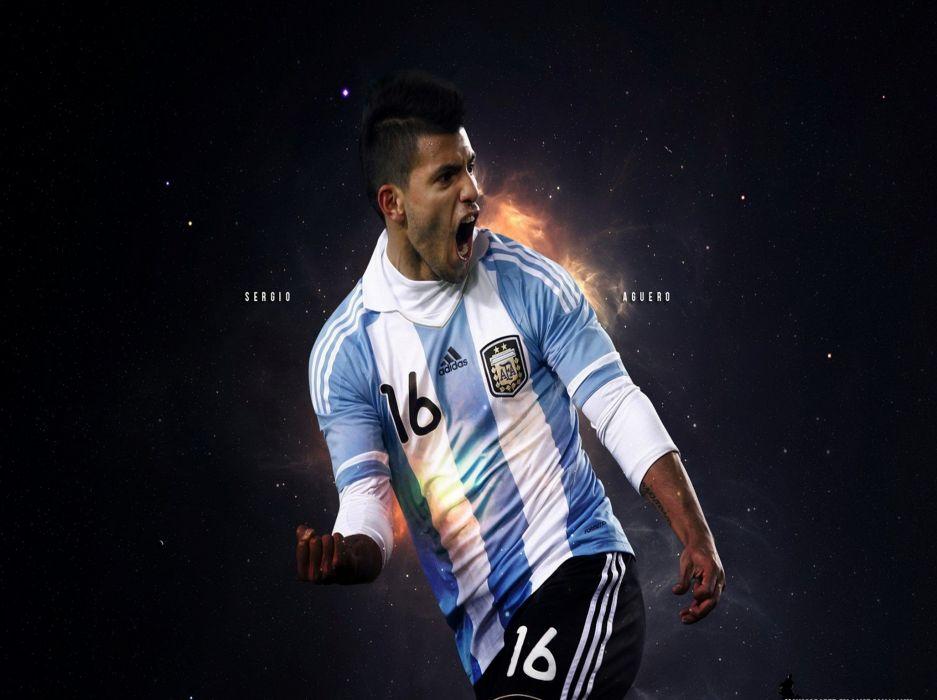 Sergio Aguero Argentina Wallpaper 2055x1535 2328 Wallpaperup