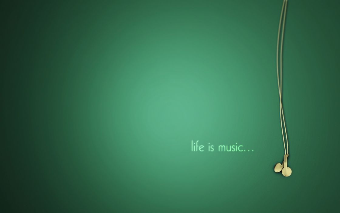 Life is music wallpaper