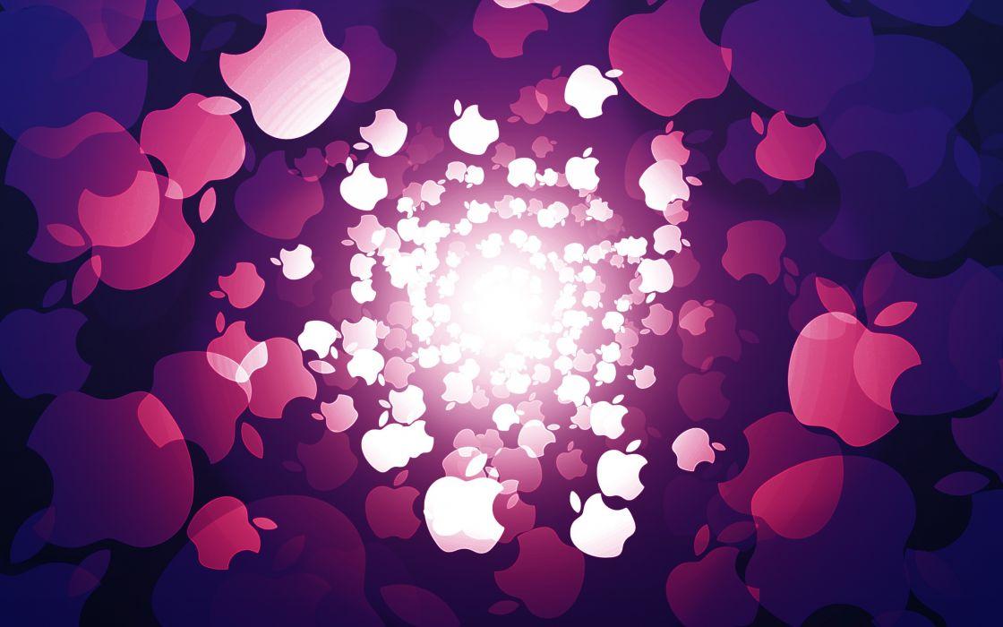 Purple Apple wallpaper