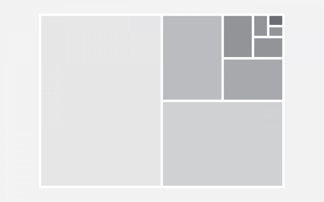 Gray escalation wallpaper
