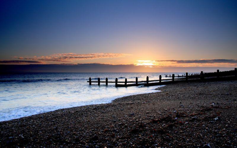 Sea sunset wallpaper