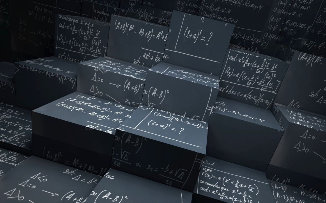 World of math wallpaper