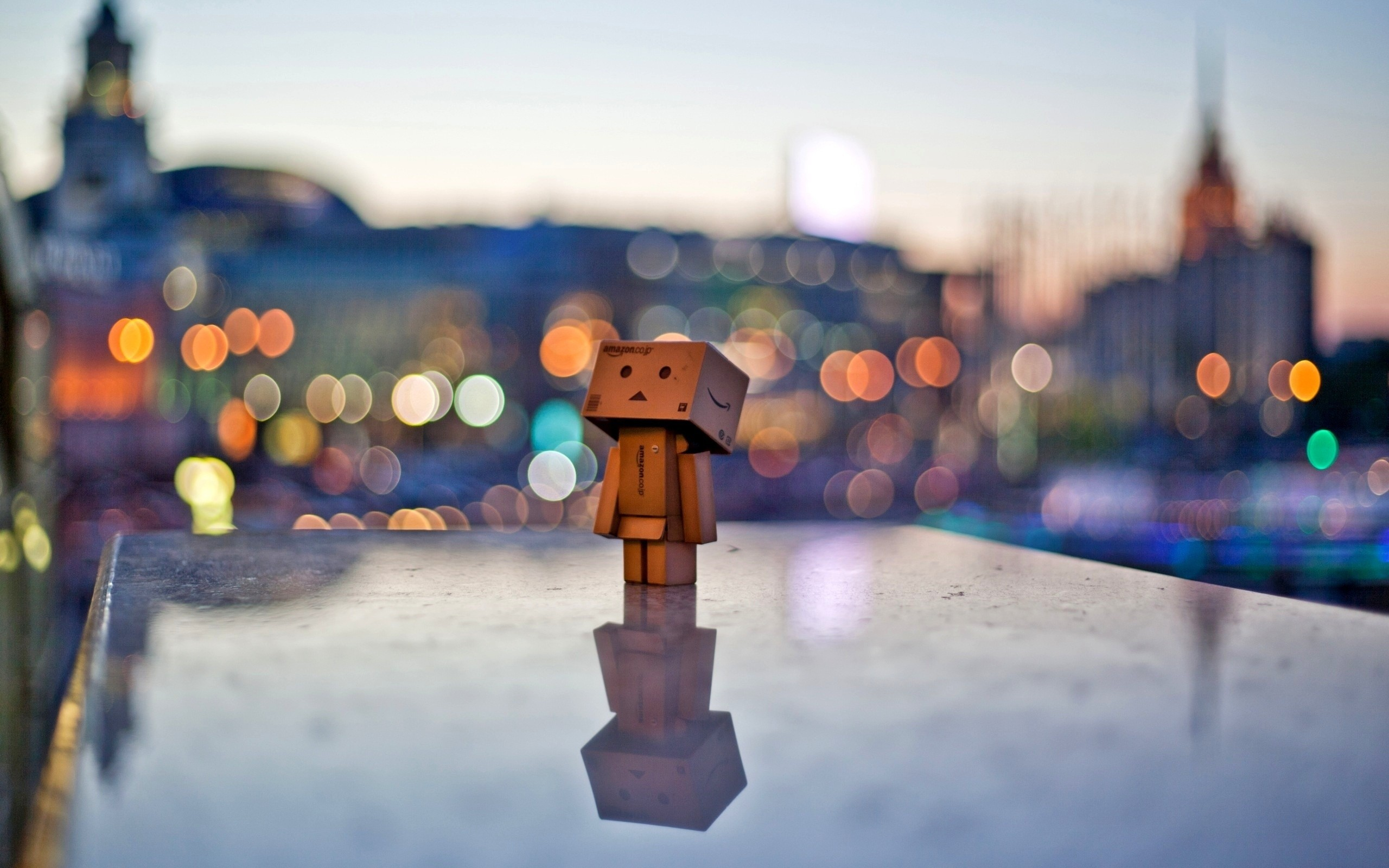 danbo the box man wallpaper 2560x1600 2573 wallpaperup