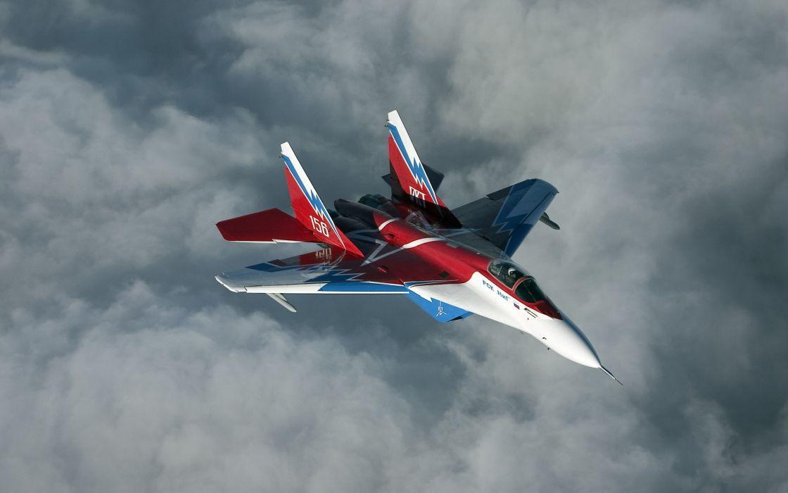 Flying Mikoyan MiG-35 wallpaper