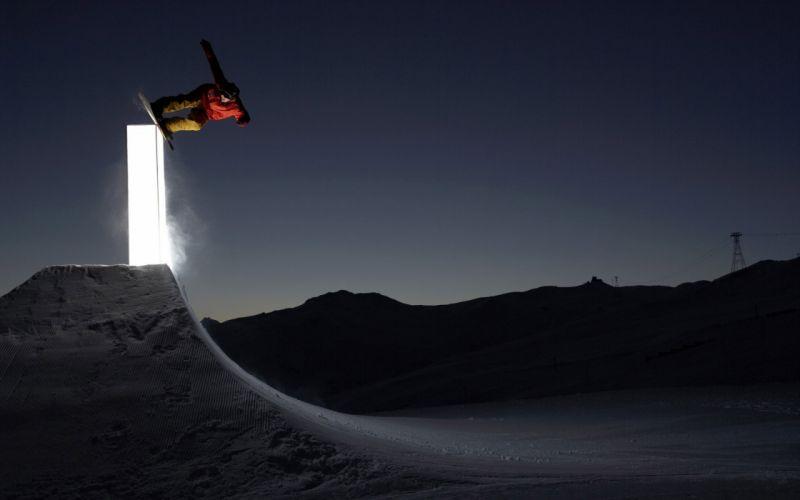 Travis Rice snowboarding wallpaper
