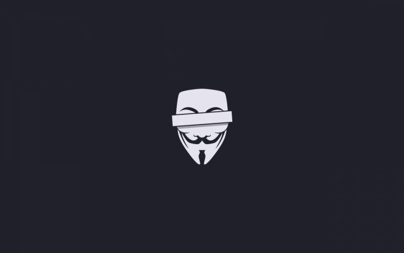 Censored anonym wallpaper
