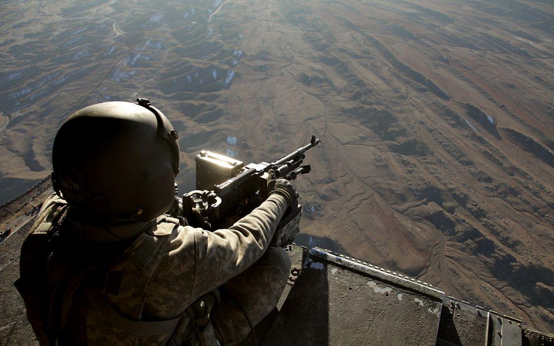 CH-47 Chinook Gunner wallpaper
