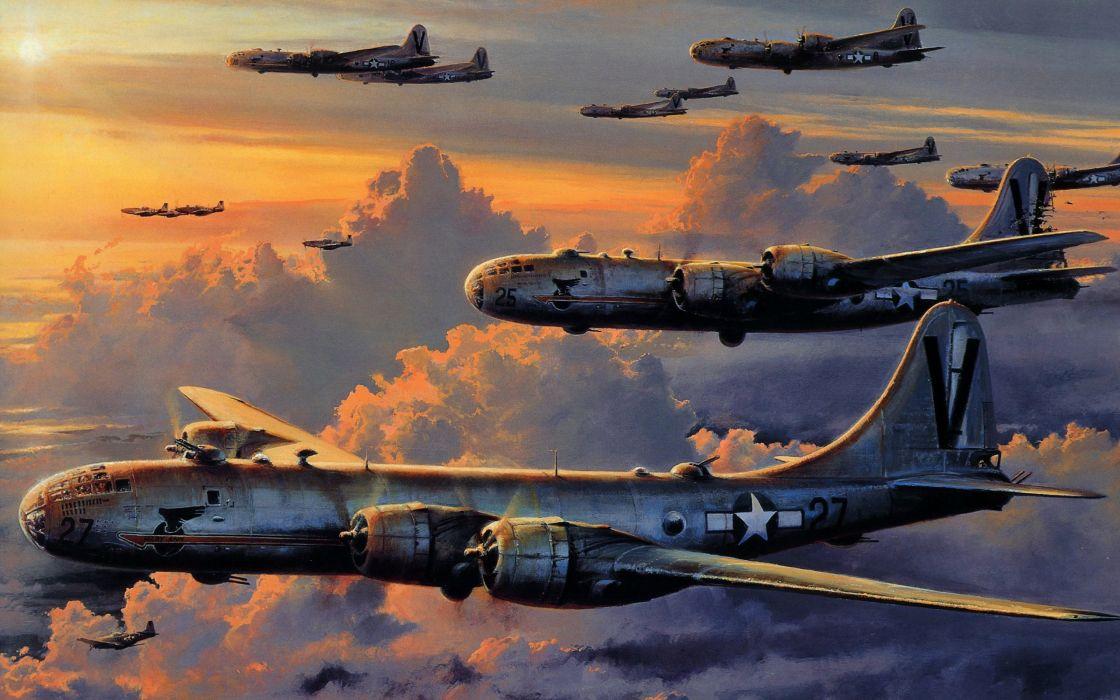 Boeing B-29 Superfortress wallpaper