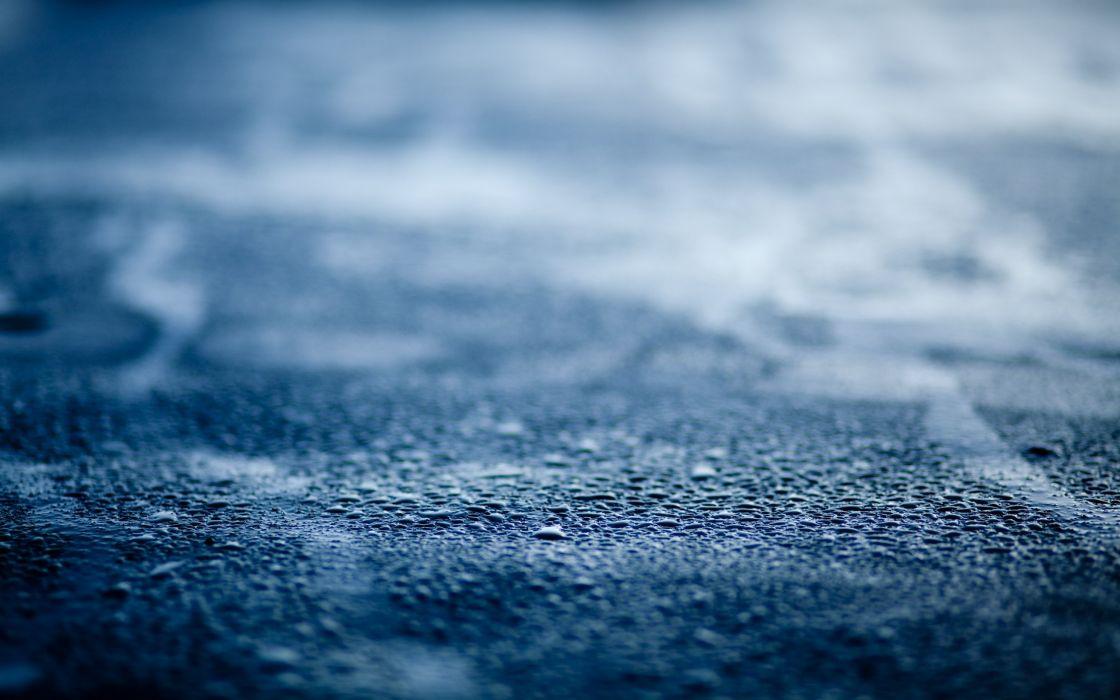 Ground surface after raining wallpaper