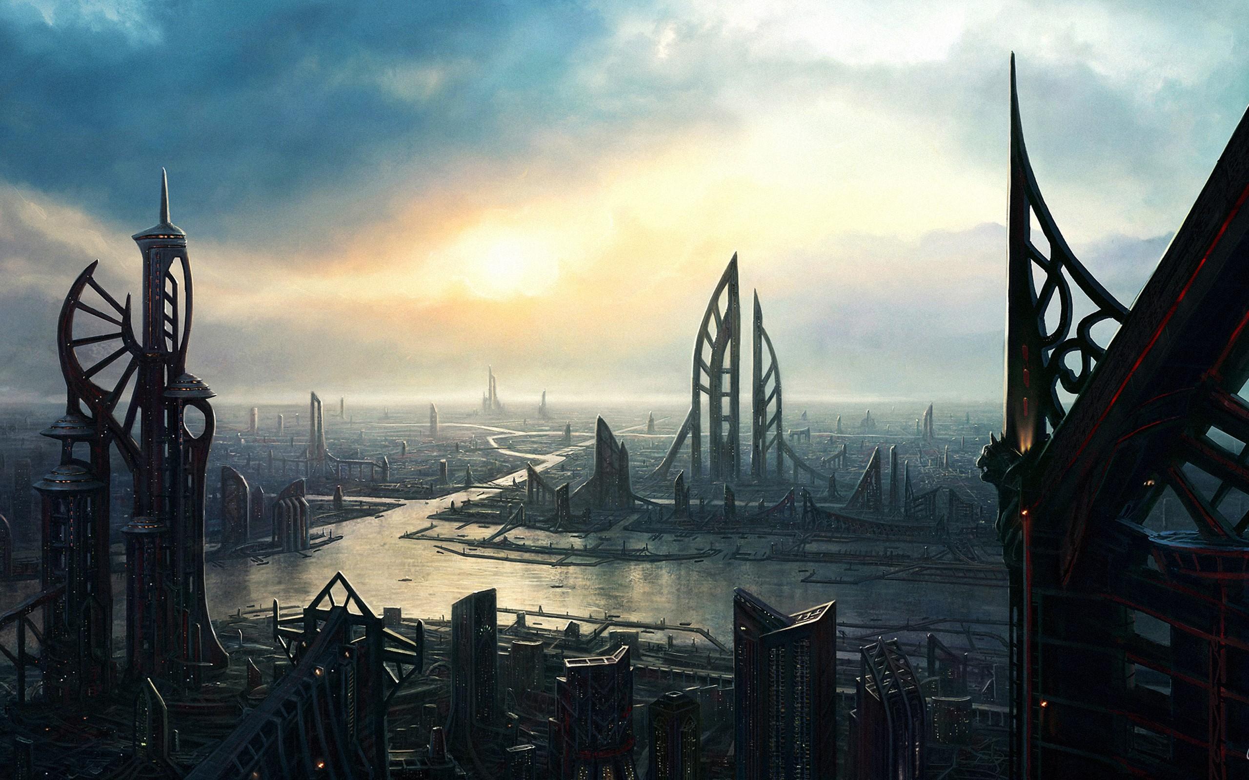 future architecture cities - HD1920×1200