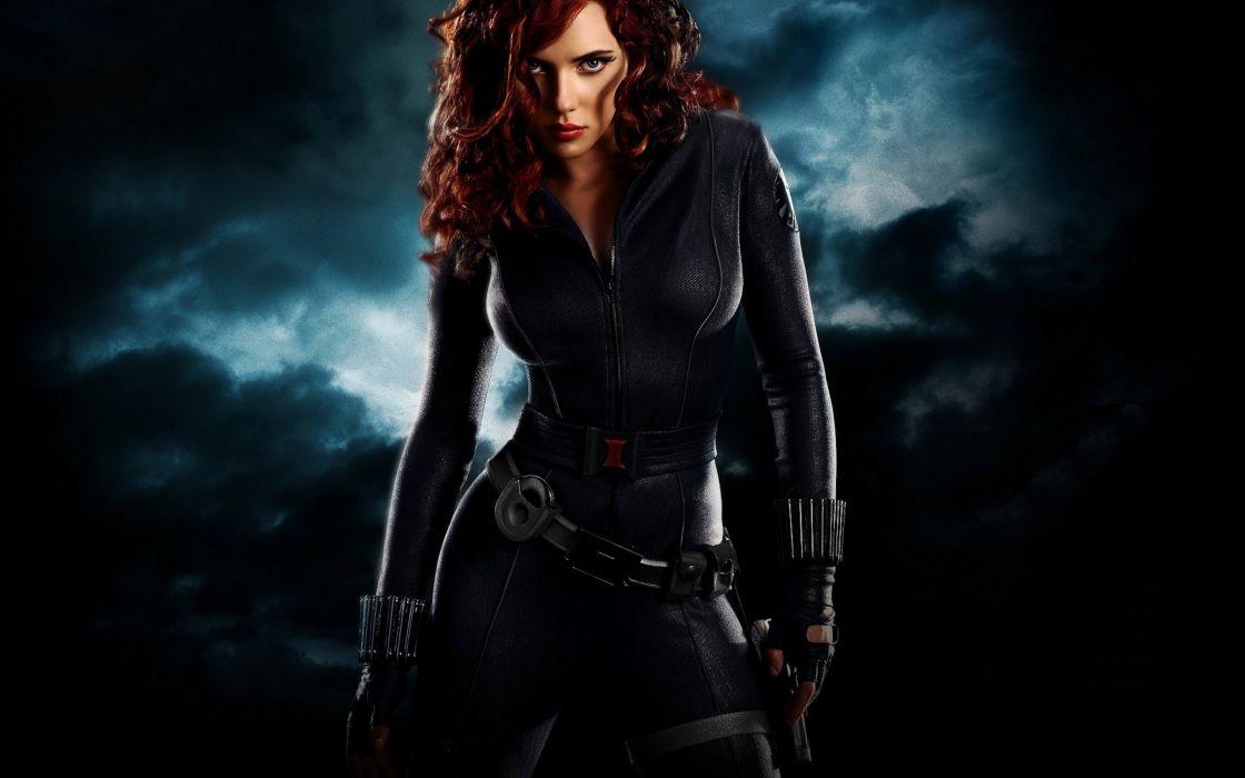 Black Widow - Scarlett Johansson wallpaper