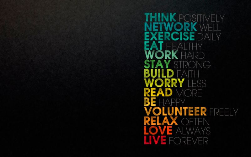 Live forever using this tips wallpaper