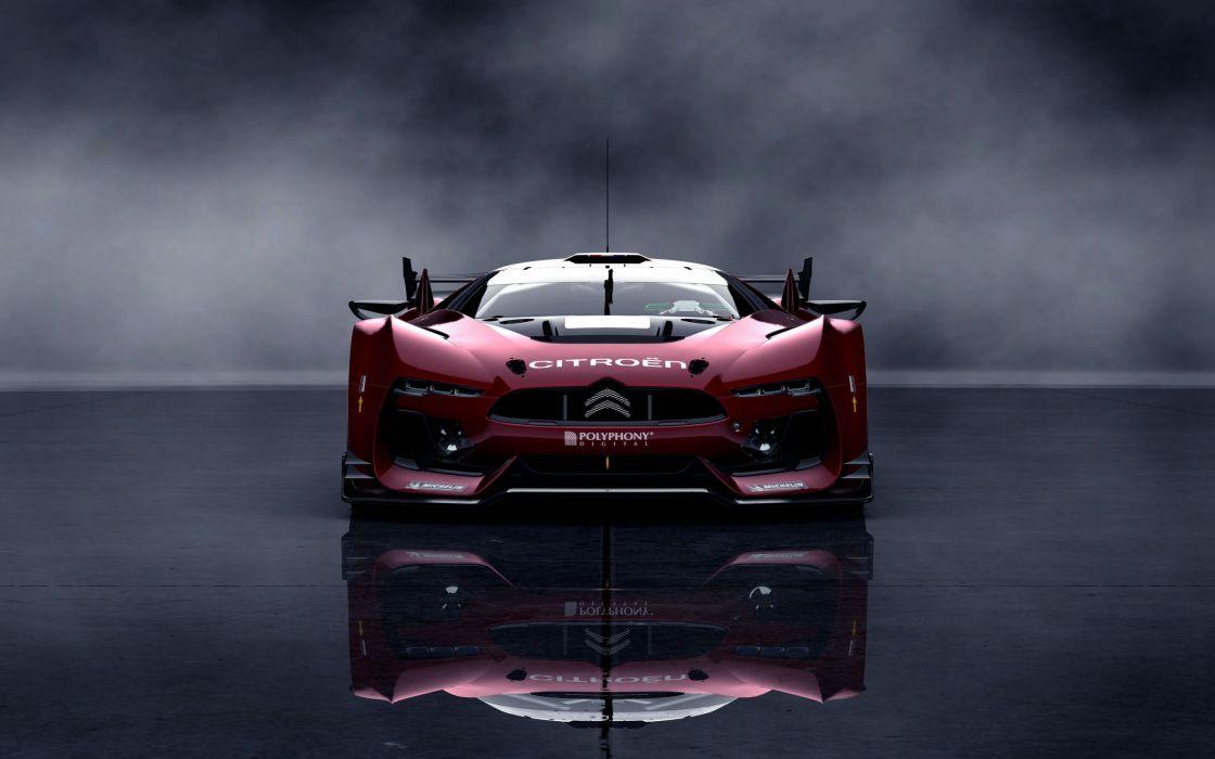GT Citroen race car wallpaper