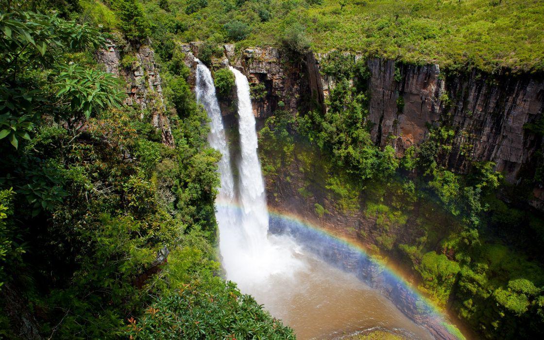 Mac Mac falls - South Africa wallpaper
