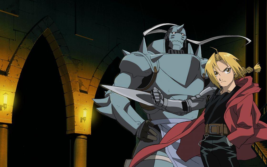 Fullmetal Alchemist brothers wallpaper
