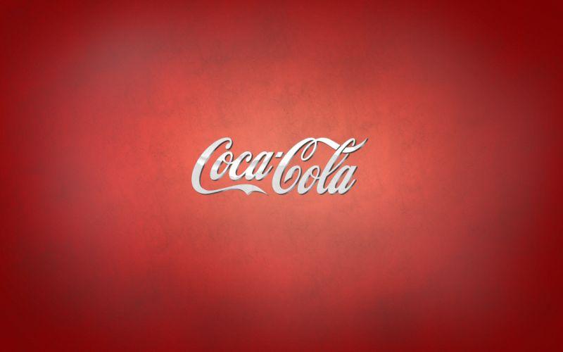 Coca-Cola logo wallpaper