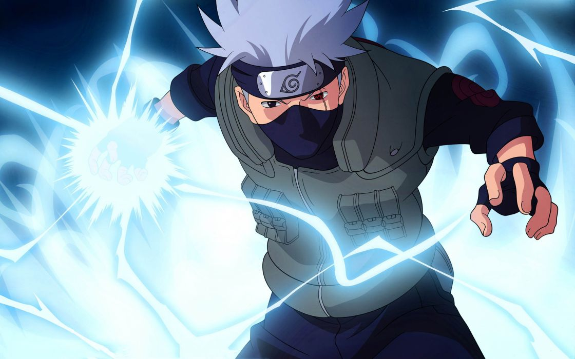 Naruto Shippuden - Hatake Kakashi - The lightning slayer wallpaper