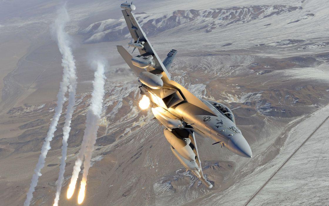 Fighter Boeing EA-18G Growler wallpaper