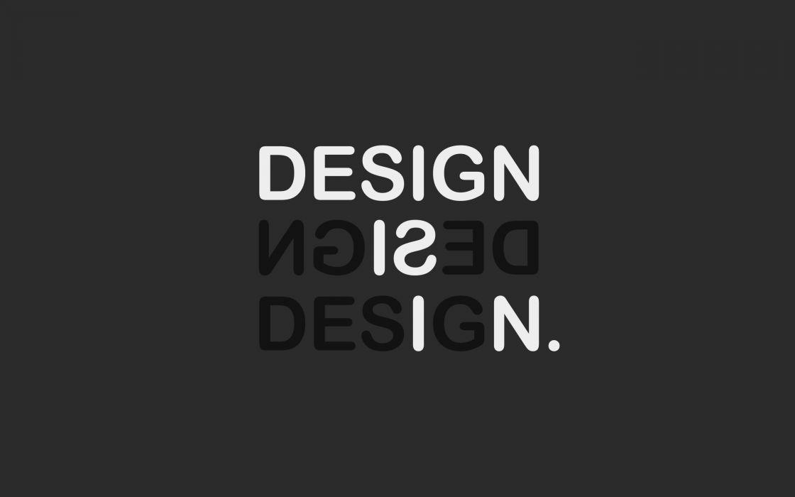 Design is in wallpaper