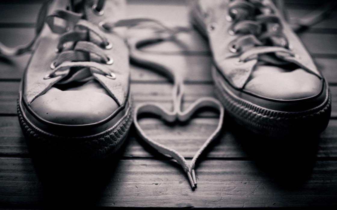 Heart laces wallpaper