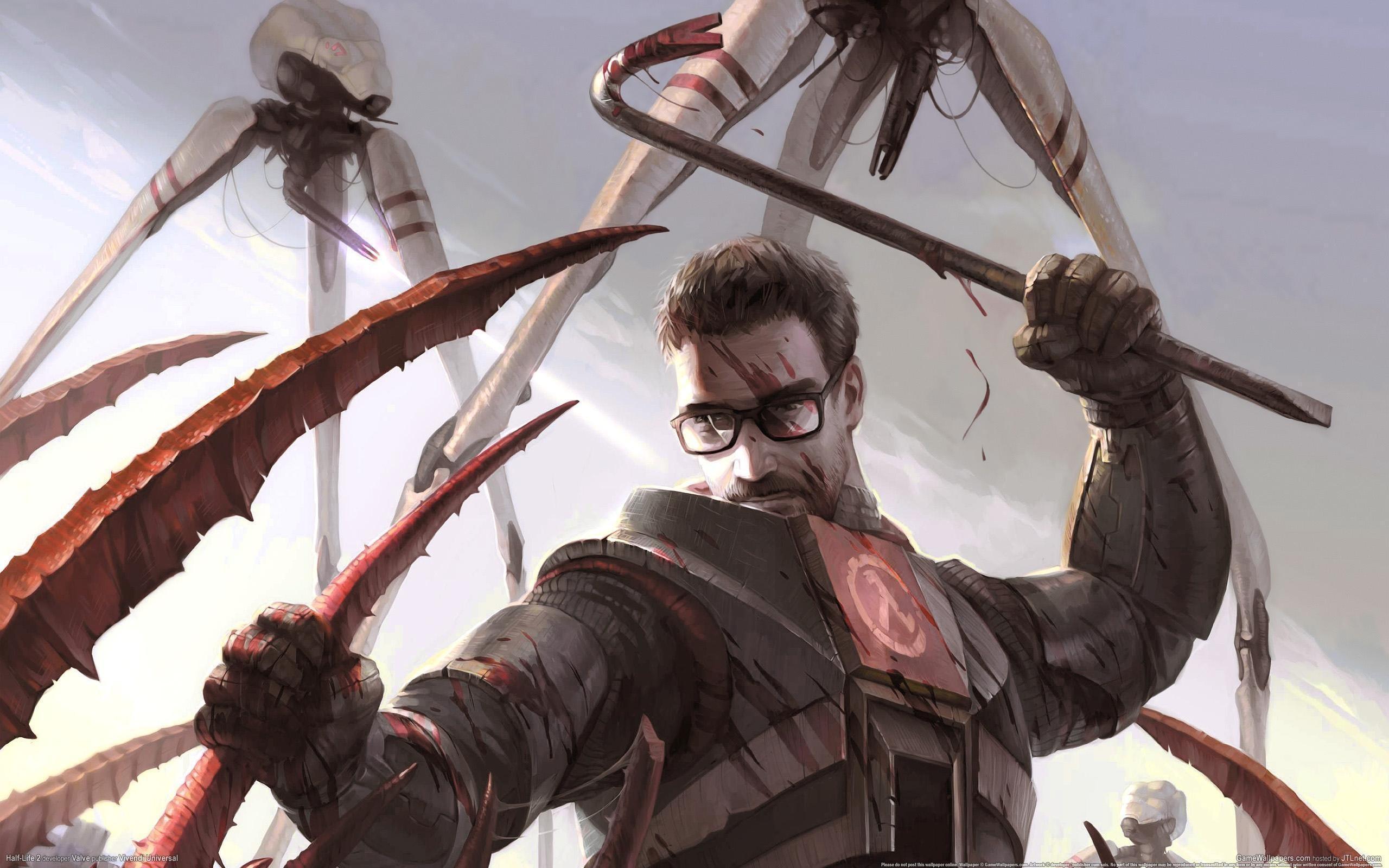 Half Life 2 - Gordon Freeman wallpaper   2560x1600   2823