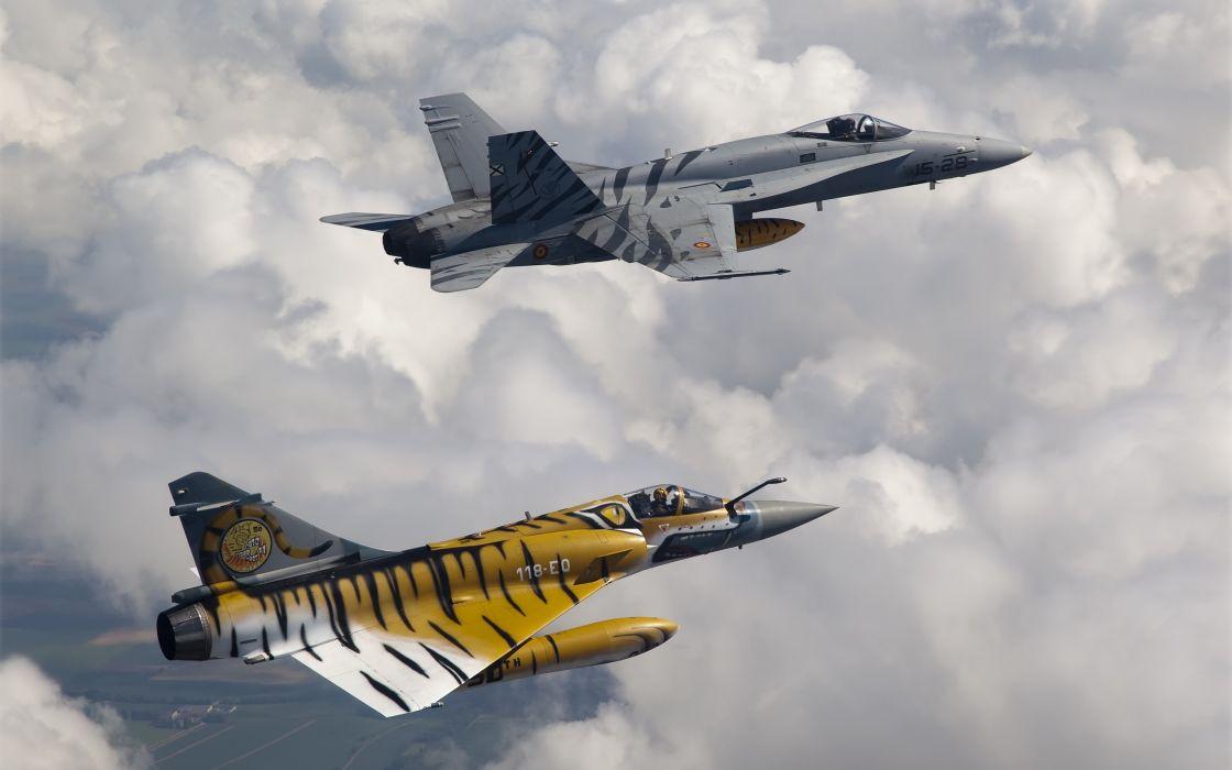 Tiger jets wallpaper