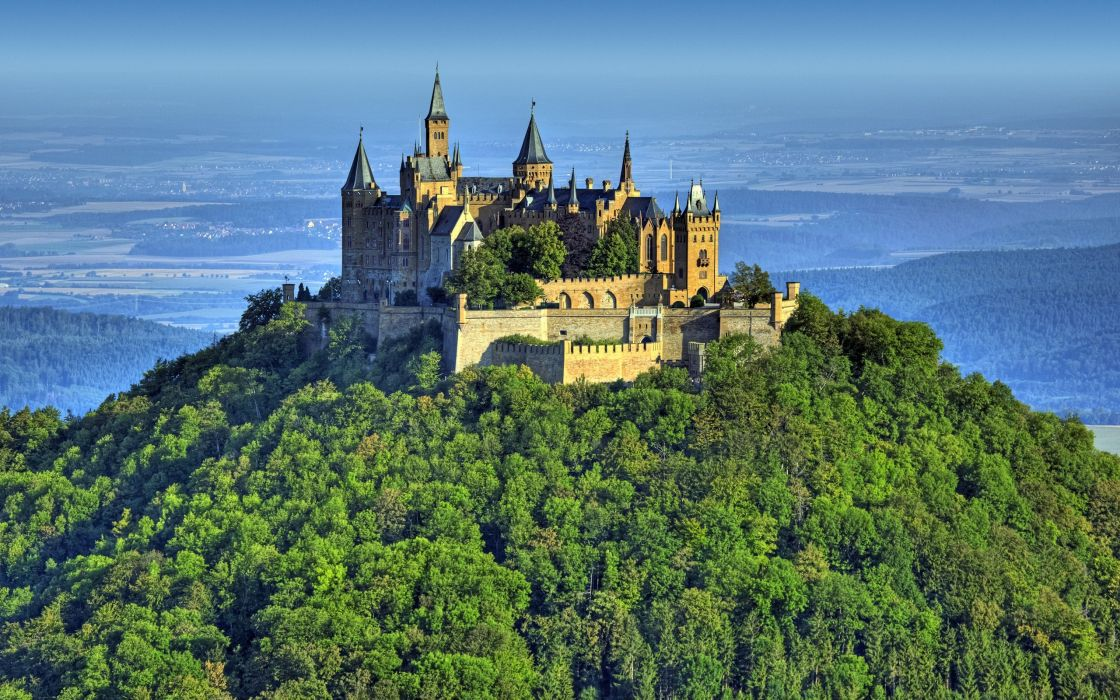 Hohenzollern castle - Germany wallpaper