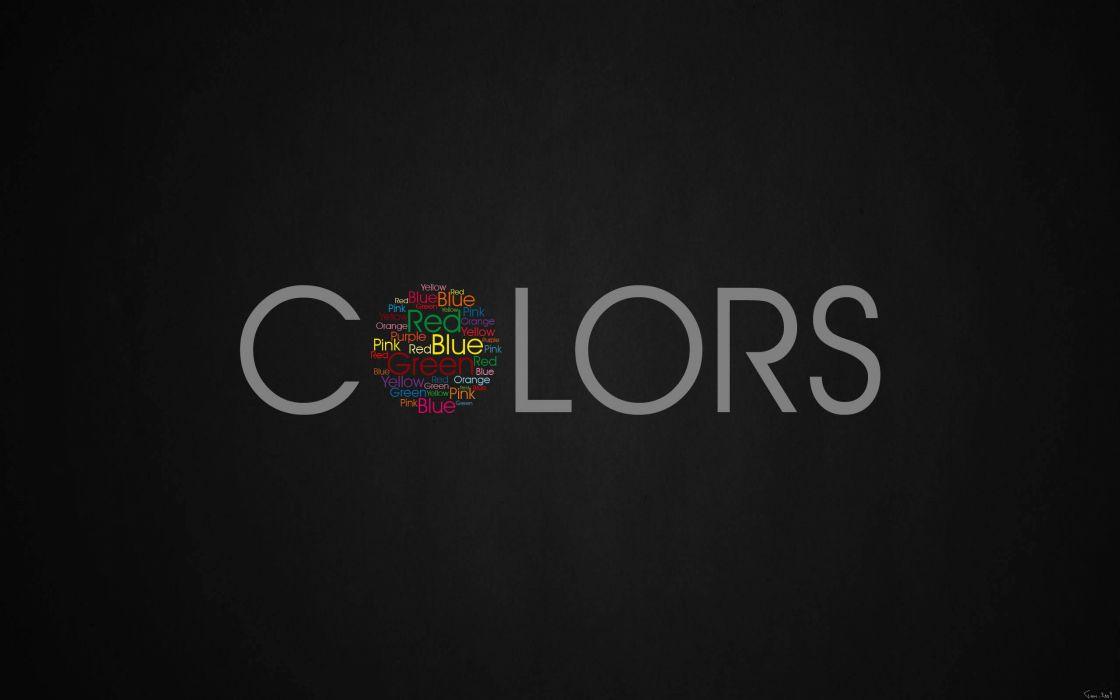 The colors wallpaper