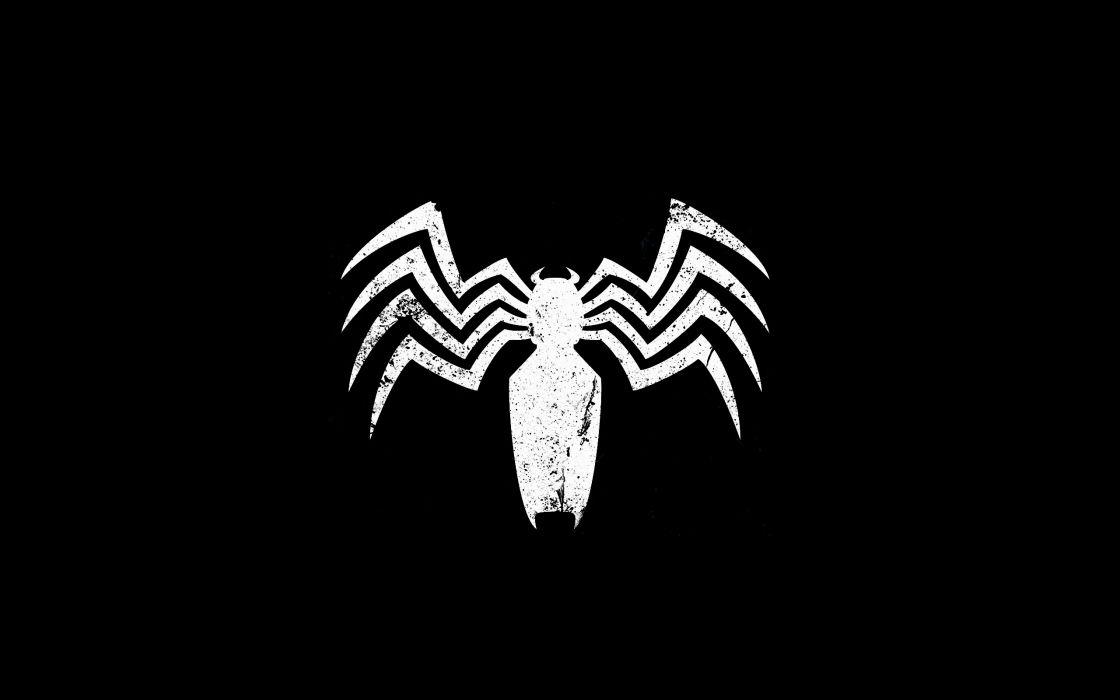 Venom logo wallpaper