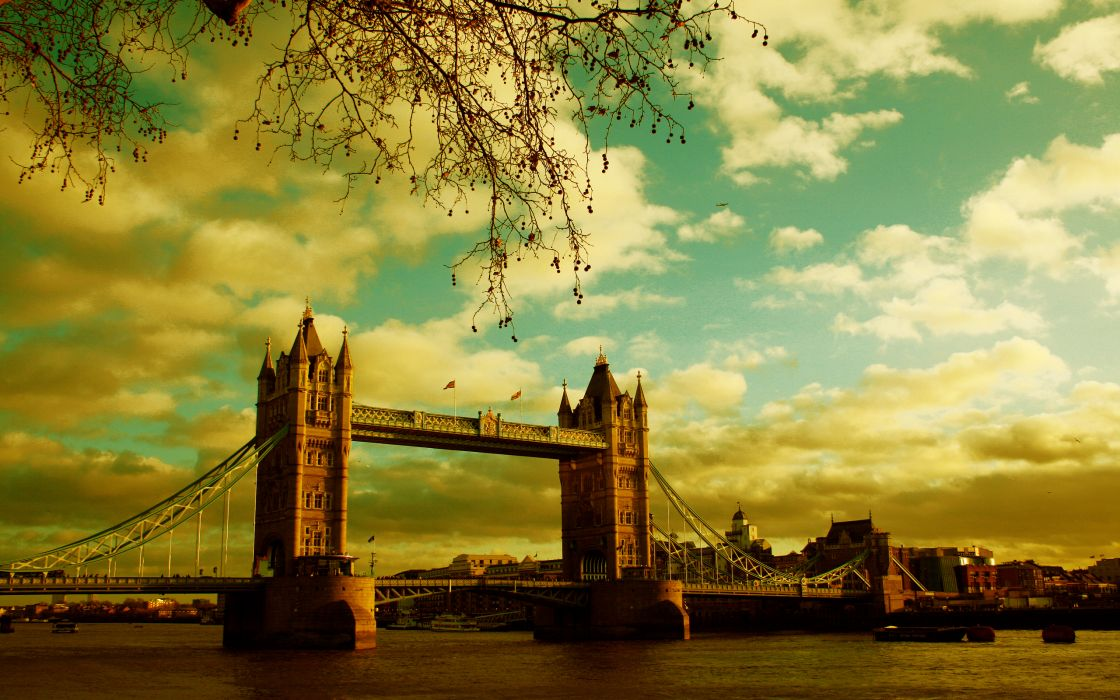 Tower Bridge vision - London wallpaper