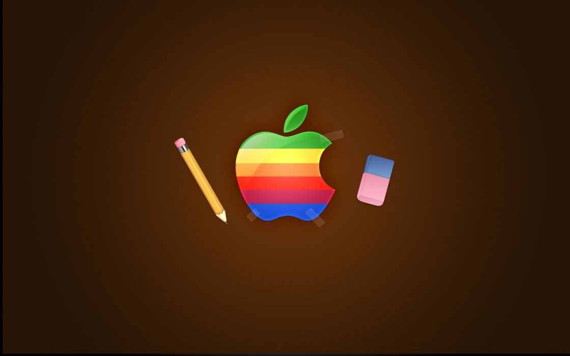 Apple Retro wallpaper