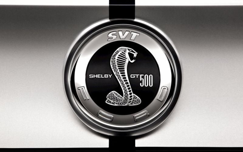 Ford Shelby GT500 logo wallpaper