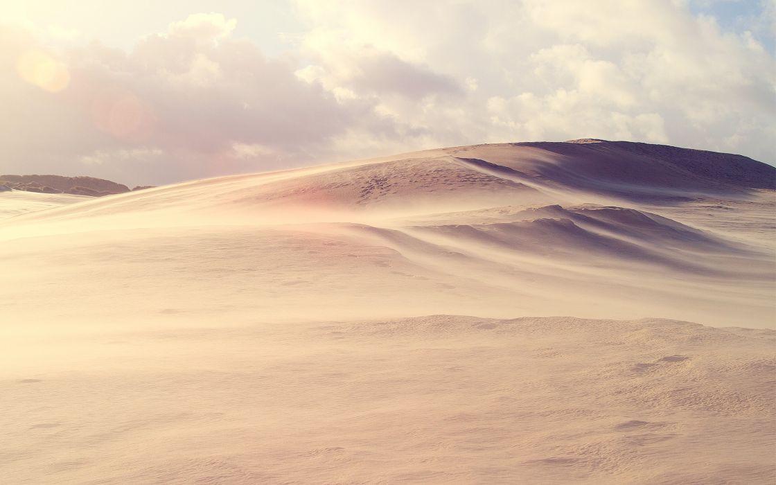 Desert hills wallpaper