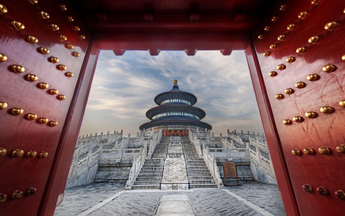 Temple of heaven wallpaper
