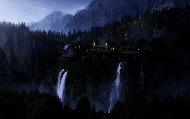 The lord of the rings rivendell wallpaper