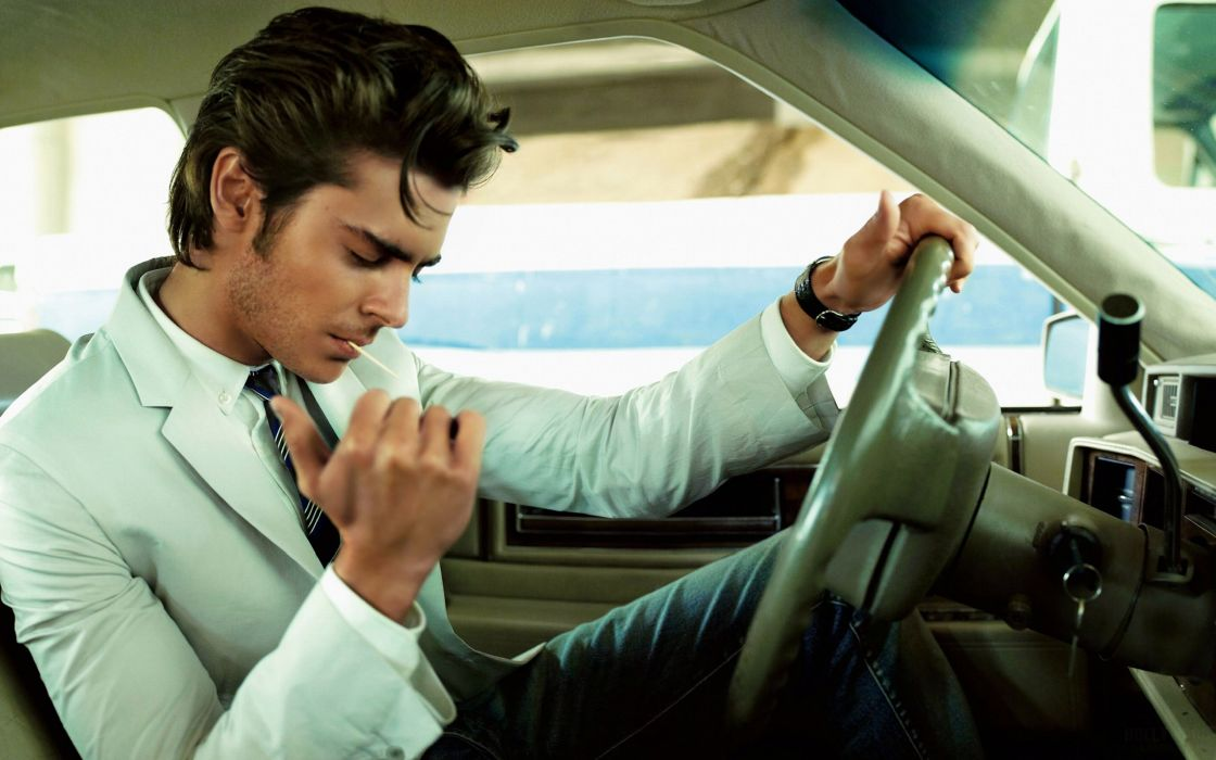 Zac efron rock and roll style wallpaper