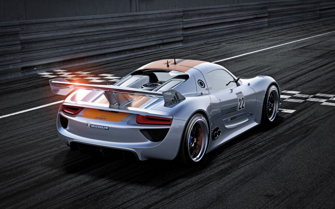 Beautiful Porsche 918 Rsr wallpaper