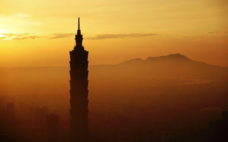 Taipei 101 skyscraper wallpaper