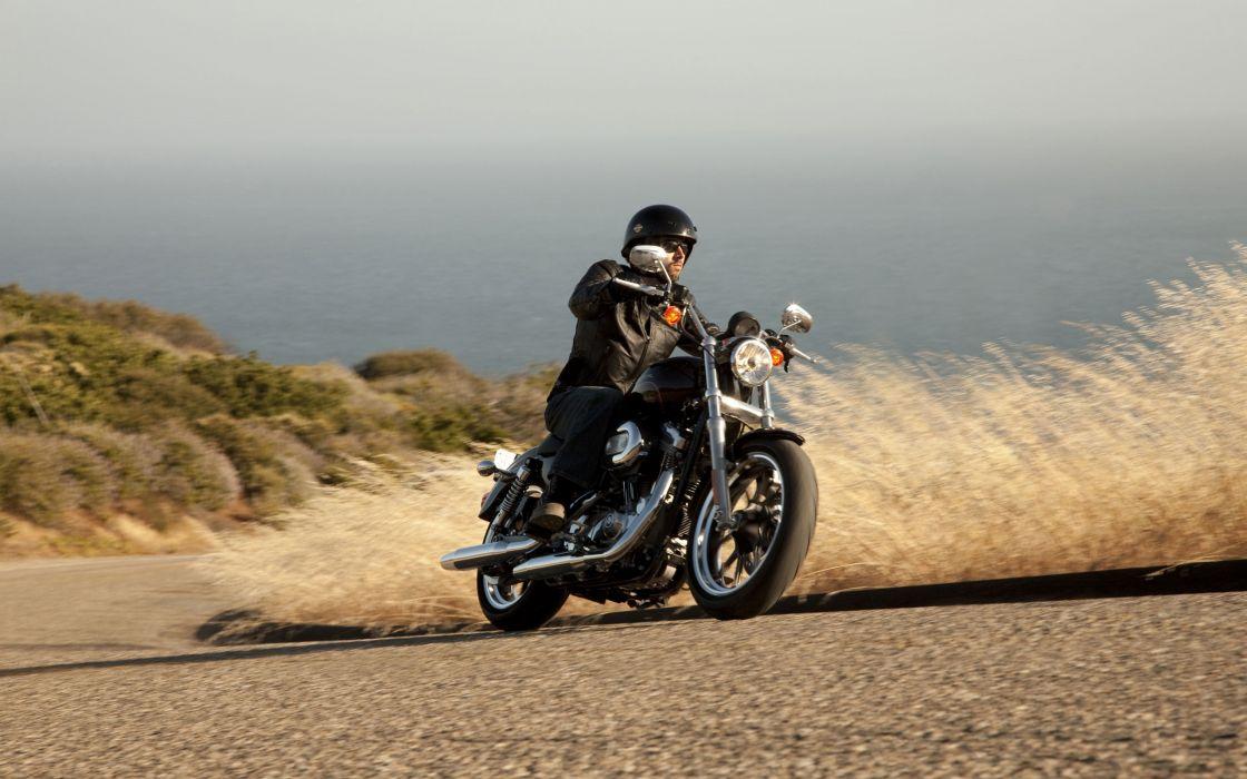 Harley Davidson Xl883 Superlow wallpaper