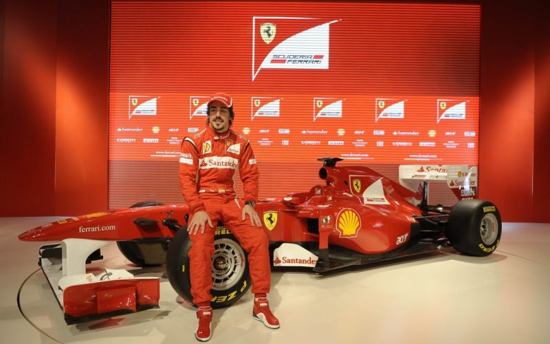 Fernando Alonso Ferrari wallpaper