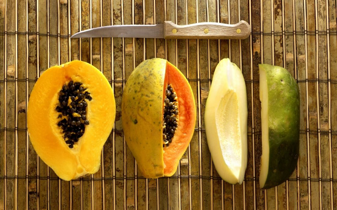 Papaya Fruit wallpaper
