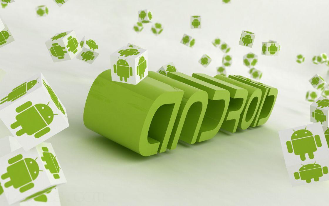Android 3 D Logo wallpaper
