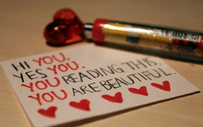 You are beautiful wallpaper