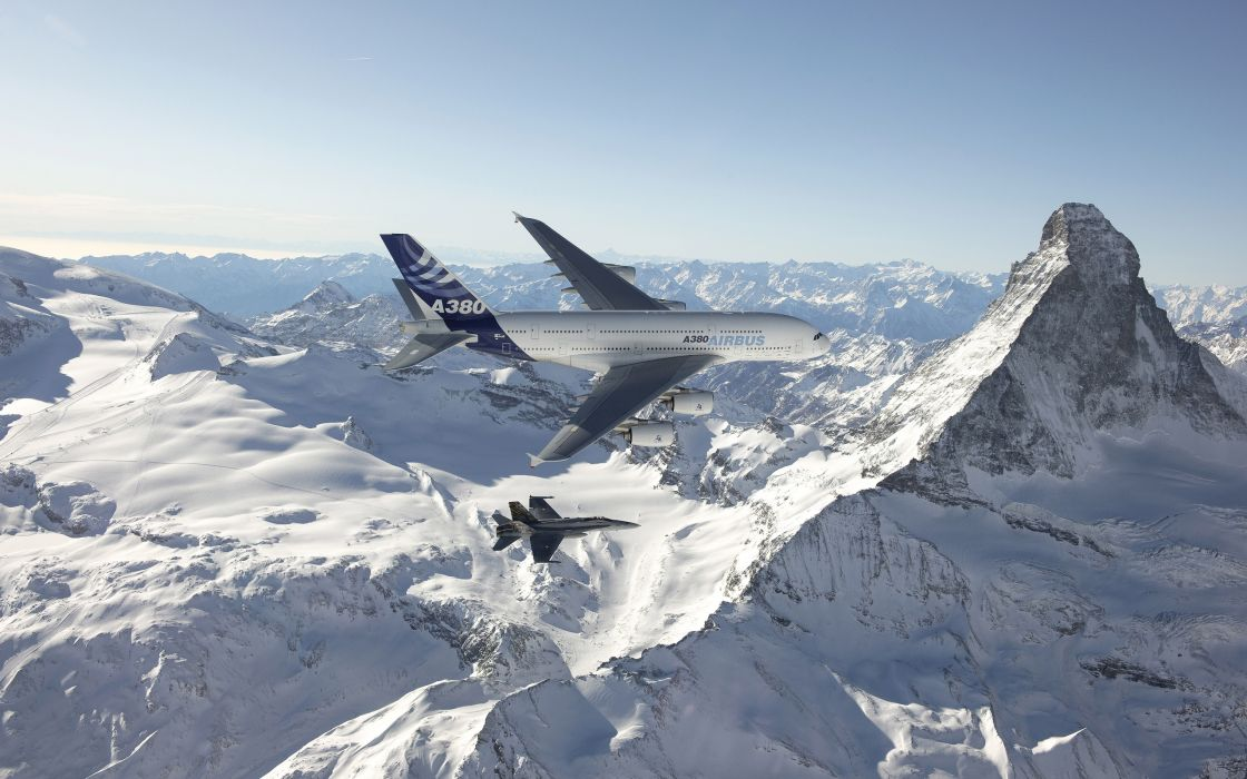 Airbus A 380 wallpaper