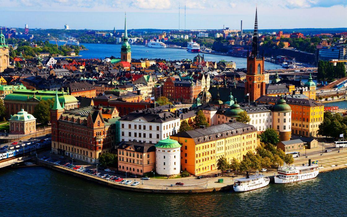 Stockholm Sweden wallpaper